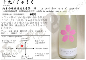 十九桜 Le cerisier rose m' apporte26BY